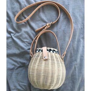 Basket Straw Handbag